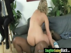 young daughter receives pounded by large black