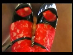 janis jones way-out foot fetish vid with old stud