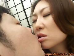 mina toujou sexy mother enjoys